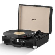 Akai Bluetooth Turntable - Black